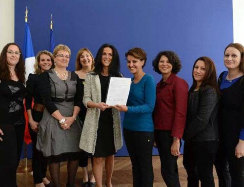 28 mai 2014 – Photo et Communiqué officiel de Najat Vallaud Belkhacem