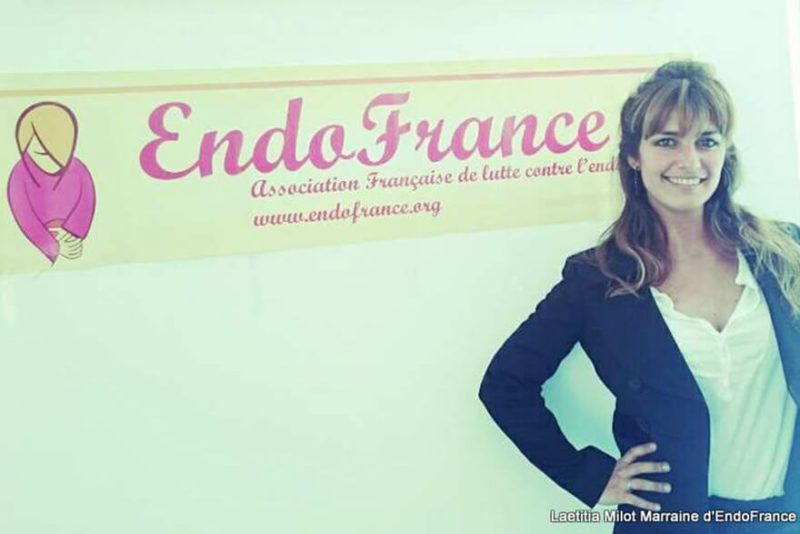 Laëtitia Milot lors de sa conférence à Marseille