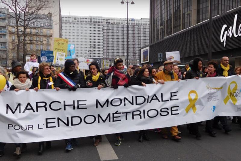 Marche mondiale contre l'Endométriose 2016