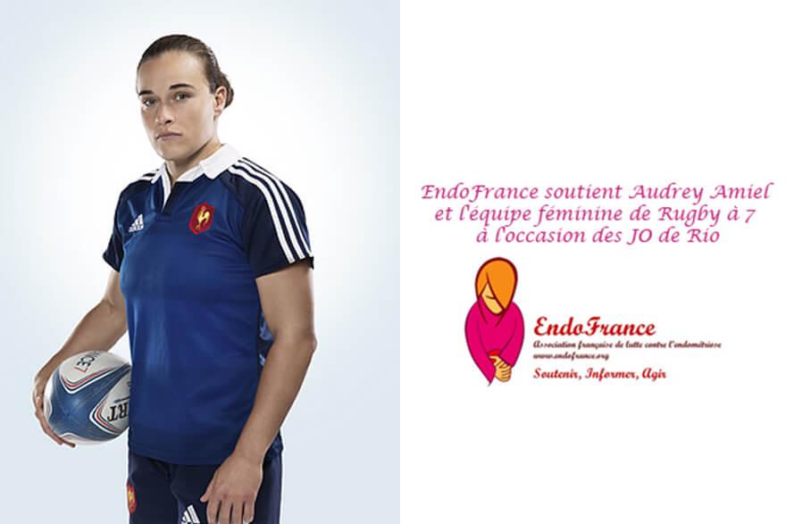 Audrey Amiel, endométriose