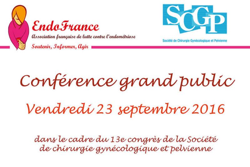 Conférence endométriose et chirurgie gynécologique et pelvienne
