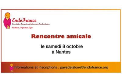 Rencontre amicale à Nantes Endométriose