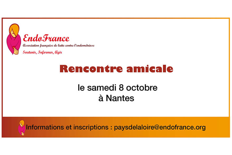 Rencontre amicale à Nantes Endométriose