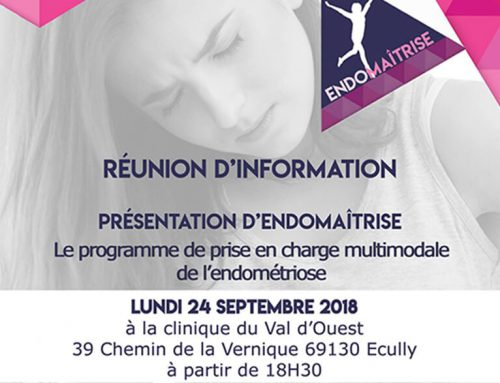 Réunion d'informations Endomaîtrise le 24 Septembre à Ecully