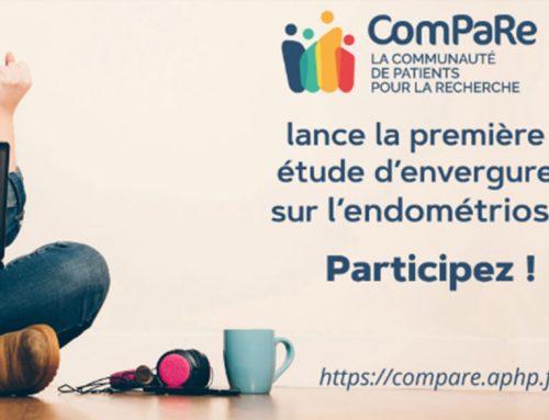 EndoFrance est partie prenante et l'un des partenaires œuvrant auprès de ComPaRe sur le sujet de l'endométriose.