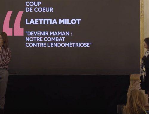 """Laetitia Milot a reçu le prix """"coup de coeur"""" décerné par le """"MediaClub'Elles"""""""
