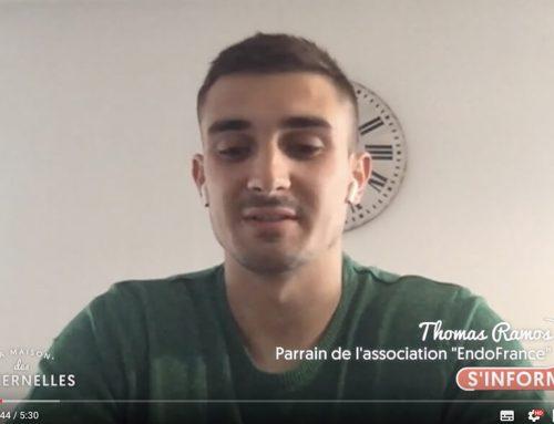 Thomas Ramos, le parrain d'EndoFrance dans les Maternelles